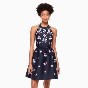 Kate Spade Pom Embroidered Dress